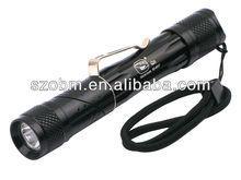 Smiling Shark SS-8037 XP-E LED 3-Mode Flashlight
