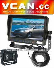 backup camera monitor with Waterproof IR Color CCD Camera