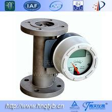 Metal tube water/gas rotameter, variable area flow meter
