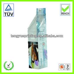 clear shoe boxes/plastic wholesale shoes box/plastic case with handle