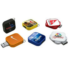Square swivel usb, newly usb flash ,nano usb stick