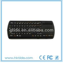 2013 hot 2.4g wireless led computer keyboard monitor keyboard combo