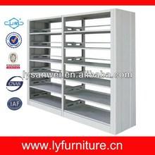 Fashionable multi steel bookshelf with 6 layers/bookrack/book case