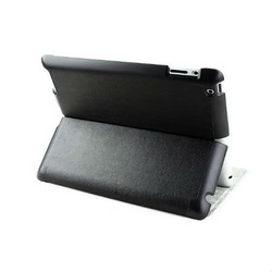 Wallet Intelligent Case S01 for iPad 2/3 Black