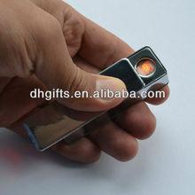 corporate gift items OEM logo promotion gifts USB lighter air freshener cigarette lighter