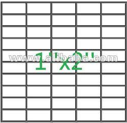 """1""""x2"""" welded wire mesh panel"""