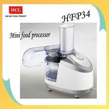 HFP34 250W mini food processor hot sell electronic food processor