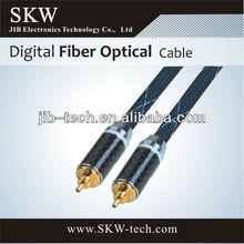 48 core single mode fiber optic cable metal shell nylon
