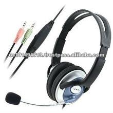 VOIP/SKYPE Handsfree Stereo Headset w/ Microphone