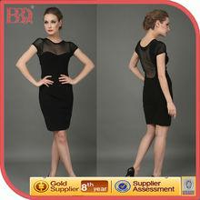 Black Mini Short Lace Sexy Club Dress