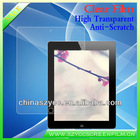 Competitive Price Ultra Anti-scratch High Clear Screen Cover For Ipad2