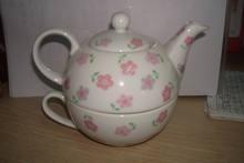 factory directly wholesales colorful porcelain tea pot