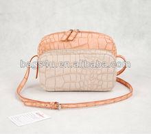 PU Leather Vintage Purses Wrist Band Bag Handbag Fashion Women Bags Factory
