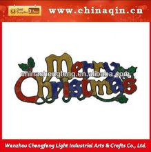 glitter hang christmas slogan