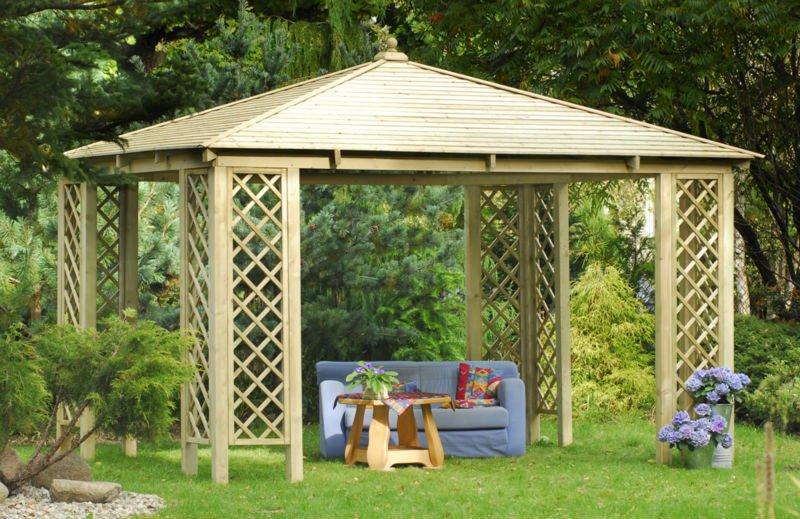 Pavillon De Jardin En Bambou -> De Jardin – Abri Jardin Auvent ...