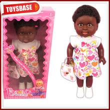 muñecas de trapo negro