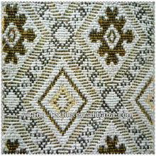 Polyester yarn dyed jacquard sofa fabric samples