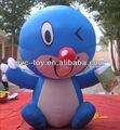 2013 venta caliente de pvc inflable modelo de payaso para la publicidad