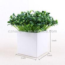 ceramic bonsai pot small lucky bamboo pot