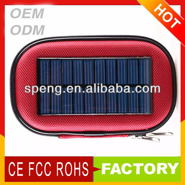 customize the coolest Solar Power Charger Bag for lovers mobile phone ,Cell Phone or apple iphone