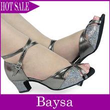 Ladies dance shoes latin dance shoe BL417