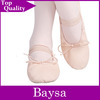 Top Quality wholesale pink leather ballet shoes BD032