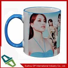 Dye Sublimation Promotion Mug with Full Color Photo Printed
