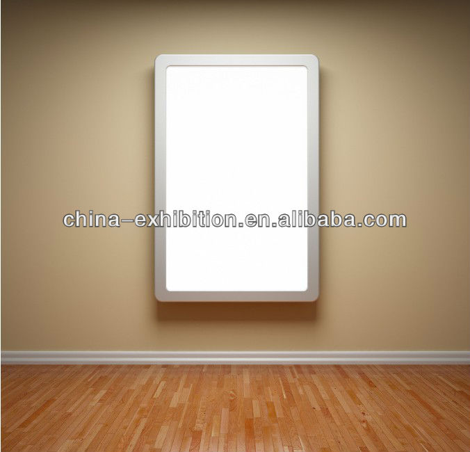 Aluminum snap frame diy led backlight panel light box, View