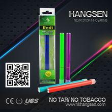 Top selling eshish electronic shisha,colorful metal shisha pen with hangsen flavor, OEM available