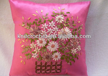 Fashion Handmade Embroidery Cushion Covers, Fancy Pillow Case