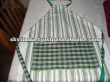 plaid cheap aprons kitchen