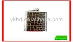 Top grade custom-made 300ml steel hip flask