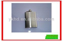Top grade customize heat press steel hip flask