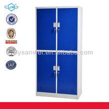 Fashionable elegant Swing 4 door steel locker /almirah / wardrobe
