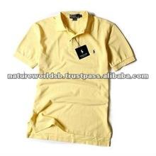 Men Polo Tee Shirt/ 100% cotton