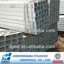 ERW circular tubular pregalvanized steel pipes building material
