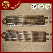 Finned Tubular Heater Straight Shape CE Certificate