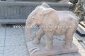 De mármol blanco onyx elefante, la decoración del hogar