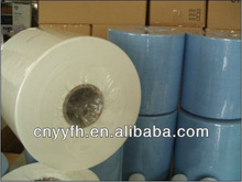 industrial cleaning towel/spunlace lint free wipe cloth