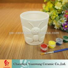 Kid's Gift Unpainted Ceramics DIY Painting