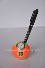 pen stand holder /pen houlder with clock