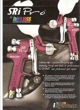 SRi-Pro Compliant Smart or Spot Repair Gravity Feed Spray Gun