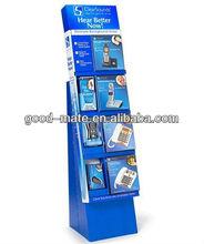 Cardboard Displays Shop Decoration Mobile Phone Showcase