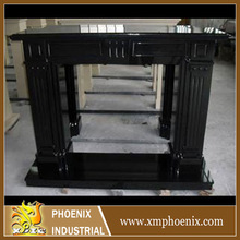 marble stone living room stove decoration