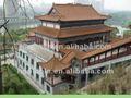 Estilo chino de asia construcción +provider material para el palacio imperial