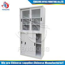 metal office cabinet furniture/steel sliding file cabinet/file cupboard design