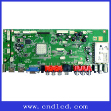 LED Large-size TV Board Support HDMI, AV,PC-RGB,S-Video,SCART ,USB,TV Signal Input