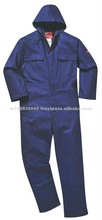 FR 100 % Weld Safe Workwear Cotton Fire Resistant Coverall