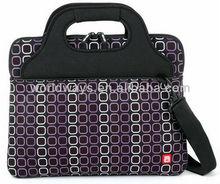 Advertising promotion gift neoprene laptop tote bag