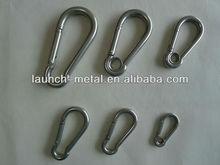 DIN5299C alloy steel standard spring safety snap hook